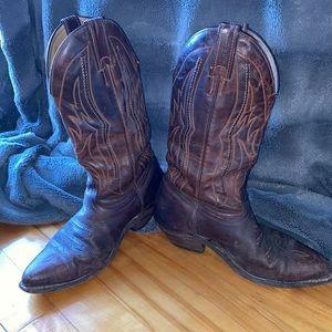 Boulet Vintage Cowboy Boots